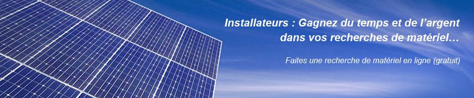 Comparez les offres des fournisseurs de matériel photovoltaïque