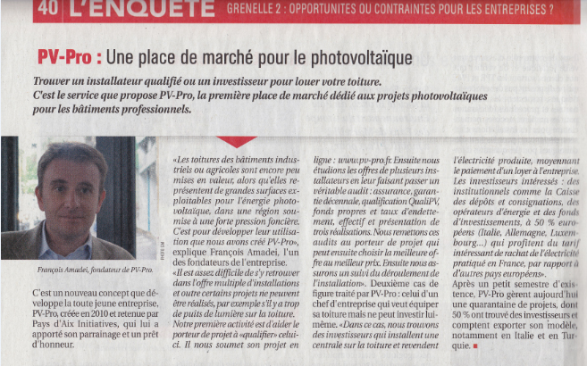 Article PSE novembre 2010